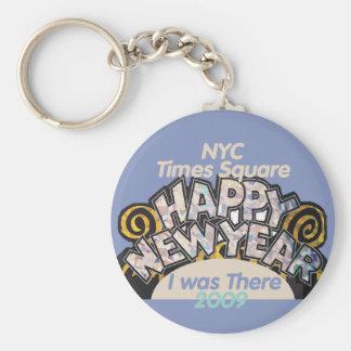 New Years NYC Keychain