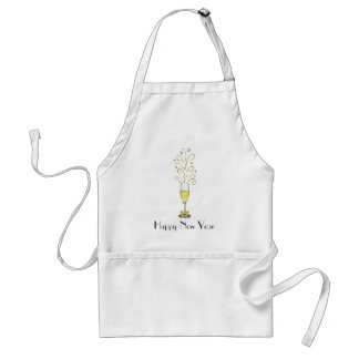 New Years Party Apron