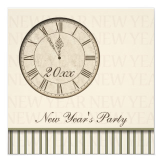 New Years Party Card