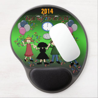 New Year's Party Gel Mouse Pad