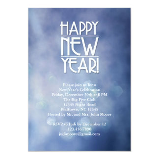 New Years Party Invitation