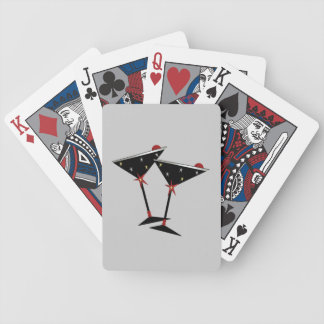 NEW YEAR'S PARTY MARTINI PLAYING CARDS
