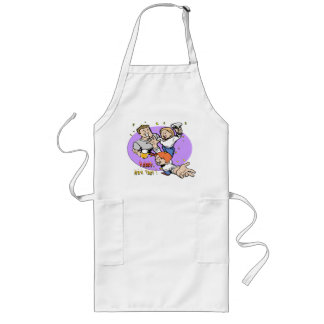 New Year's Partyers Long Apron