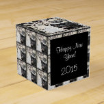 New Years Pug dog Party favor box Party Favor Boxes