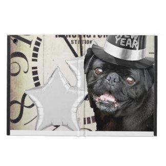 New Year's pug dog powis ipad air case