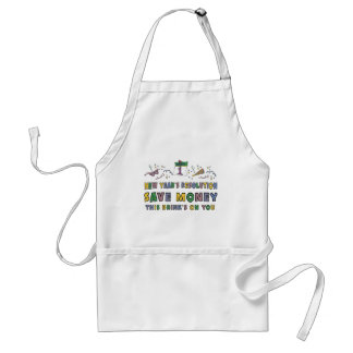 New Years Resolution Apron