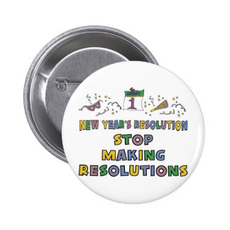 New Years Resolution Pins