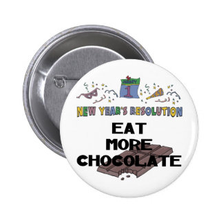 New Years Resolution Buttons