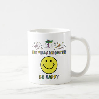New Years Resolution Coffee Mug