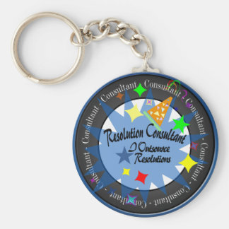 New Year's Resolution Consultant Keychain