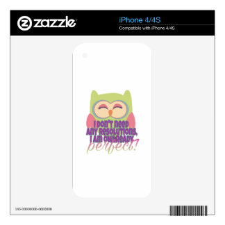 New years resolution skins for iPhone 4