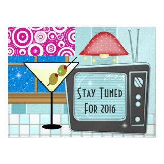 New Year's Retro Rockin'  - SRF Card