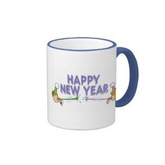 New Years Ringer Mug