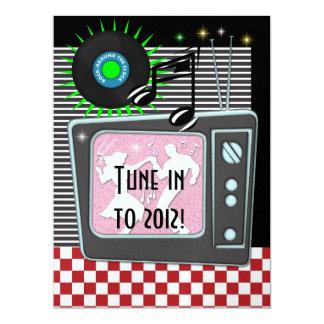 New Year's Rockin Around the Clock - SRF Card