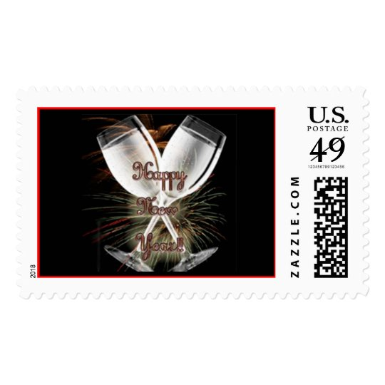 New Years Stamps