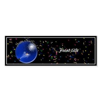 New Years Supernova Celebration Business Card