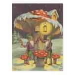 New Year's Toast Postcard