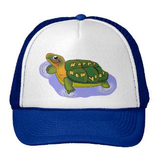 New Years Turtle Mesh Hat