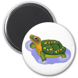 New Years Turtle Magnets
