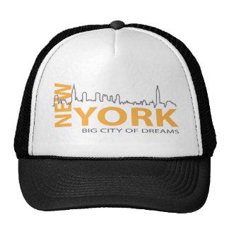 New_York4 Mesh Hat