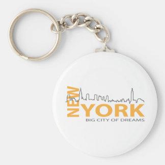 New_York4 Keychain