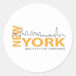 New_York4 Sticker