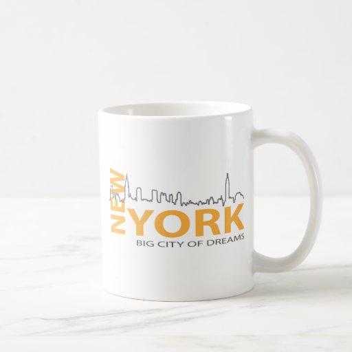New_York4 Tazas De Café