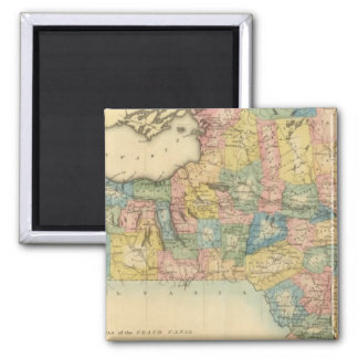 New York 14 2 Inch Square Magnet