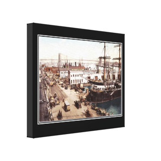 New York 1898 Wrapped Canvas Gallery Wrapped Canvas