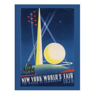 New York 1939 World's Fair Vintage Postcard