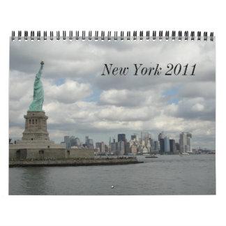 New York 2011 Calendar