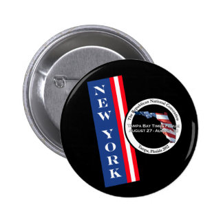 New York 2012 Republican Convention Pins