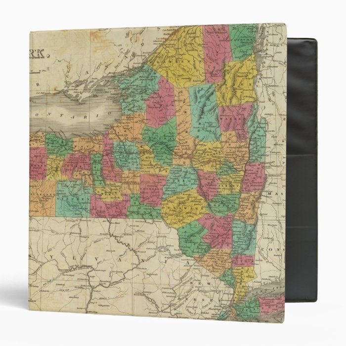 New York 23 3 Ring Binder