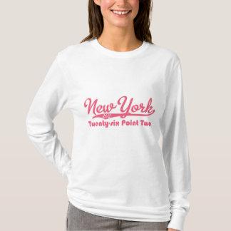 New York 26.2 Pink Marathon Hoodie