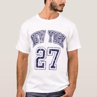 New York 27 Rings t shirt