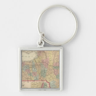 New York 2 Keychain