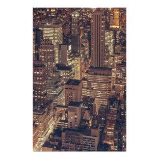 New York 2 Stationery