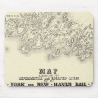 New York 39 Mouse Pad