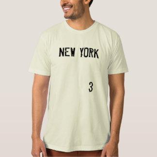 NEW YORK #3 MEN'S ORGANIC T-SHIRT