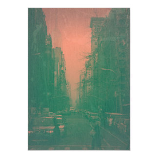 New York 5th Avenue Card