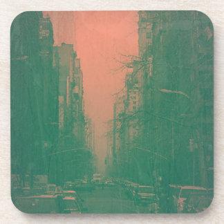 New York 5th Avenue Drink Coaster