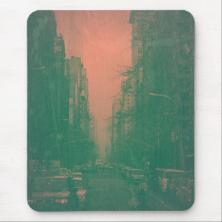 New York 5th Avenue Mouse Pad