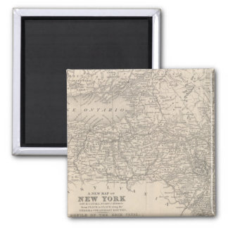 New York 6 2 Inch Square Magnet