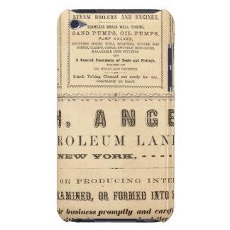 New York Advertisements iPod Case-Mate Case