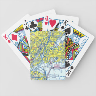 New York Airspace Playing Cards