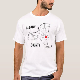 New York: Albany County T-Shirt