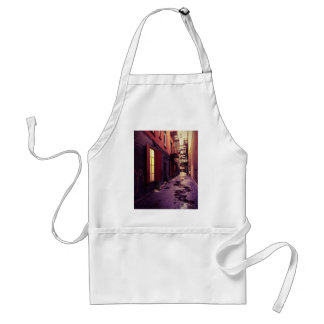 New York Alley Adult Apron