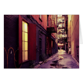 New York Alley Card