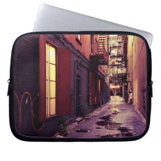 New York Alley Laptop Computer Sleeve