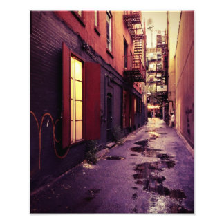 New York Alley Photo Print